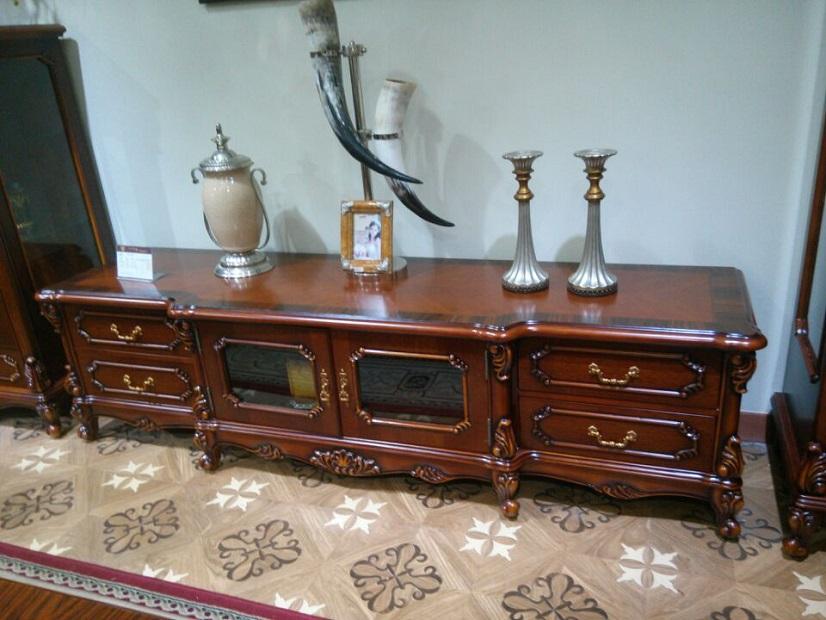 欧式品牌家具-8806电视柜