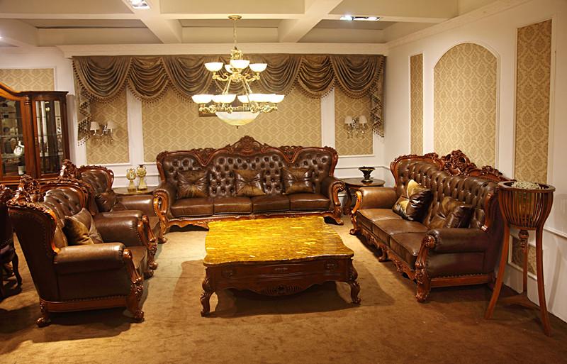 沙发8909-欧式家具-欧式实木雕刻家具